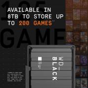 Western Digital 8TB D10 Game Drive Desktop External Hard Drive - външен хард диск 8TB, съвместим с PC, PS4 и Xbox (черен) 2
