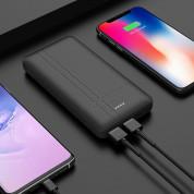 Hoco J48 Nimble Power Bank 10000mAh - външна батерия с 2 USB изхода за зареждане на мобилни устройства (черен) 4