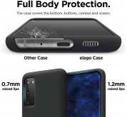 Elago Silicone Case for Samsung Galaxy S20 (black) 3