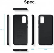 Elago Silicone Case for Samsung Galaxy S20 (black) 6