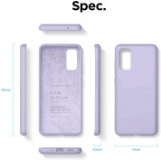 Elago Silicone Case for Samsung Galaxy S20 (lavender) 6