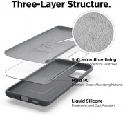 Elago Silicone Case for Samsung Galaxy S20 (meduim gray) 2