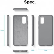Elago Silicone Case for Samsung Galaxy S20 (meduim gray) 6