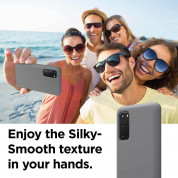 Elago Silicone Case for Samsung Galaxy S20 (meduim gray) 4