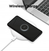 Elago Silicone Case - силиконов (TPU) калъф за Samsung Galaxy S20 Plus (черен) 5