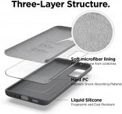 Elago Silicone Case - силиконов (TPU) калъф за Samsung Galaxy S20 Plus (сив) 2