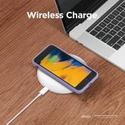 Elago Silicone Case - качествен силиконов (TPU) калъф за iPhone SE (2020), iPhone 8, iPhone 7 (лилав) 5