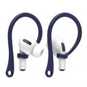Elago AirPods Pro EarHooks - силиконови кукички за Apple AirPods Pro (тъмносин)
