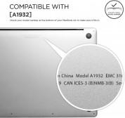 Elago Slim Case - предпазен поликарбонатов кейс за MacBook Air 13 (2018-2019) (прозрачен) 6
