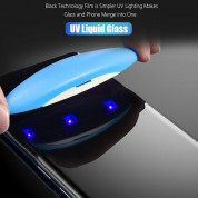Nano Liquid UV Full Glue Tempered Glass for Samsung Galaxy S20 (clear) 2