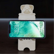 Dice Basic Wood Dog Stand for Smartphones  2