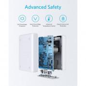 Anker PowerPort Atom PD 4 Ports (100W) - захранване с 2 x USB-C изхода и 2 x USB изхода за мобилни телефони и таблети (бял)  5