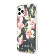 Guess Flower Collection Case 03 for iPhone 11 Pro Max (black) 2