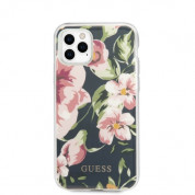 Guess Flower Collection Case 03 for iPhone 11 Pro Max (black) 1