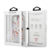 Guess Flower Collection Case 02 for iPhone 11 Pro Max (white) 6