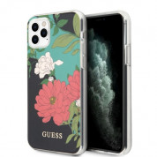 Guess Flower Collection Case 01 for iPhone 11 Pro Max (black)