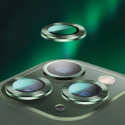 USAMS Metal Camera Lens Glass Film for Apple iPhone 11 Pro Max (silver) 2