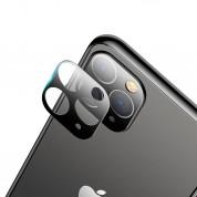 USAMS Camera Lens Glass - предпазни стъклени лещи за камерата на iPhone 11 Pro (черен)