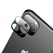 USAMS Camera Lens Glass for Apple iPhone 11 Pro Max (black)