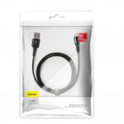 Baseus Halo USB Lightning Cable (CALGH-E01) - Lightning USB кабел за Apple устройства с Lightning порт (300 см) (черен) 6