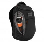 Urban Armor Gear STD Issue 24 liter Backpack - висококачествена водонепромукаема раница за MacBook Pro 16, и лаптопи до 16 инча (черен) 3