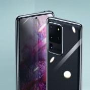 Baseus Simple Case - силиконов (TPU) калъф за Samsung Galaxy S20 (прозрачен) 5