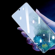 Baseus Full Screen Curved Soft Screen Protector - извито защитно покритие с черна рамка за целия дисплей на Samsung Galaxy S20 (два броя) 5