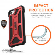Urban Armor Gear Monarch for iPhone SE (2020), iPhone 8, iPhone 7 (crimson) 3