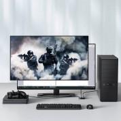 Baseus Bidirectional HDMI Switch Splitter (CAHUB-BC0G) - двупосочен HDMI превключвател за компютри и монитори 5