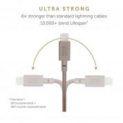 Native Union Key Lightning Cable - здрав плетен кабел, тип ключодържател с Lightning за Apple устройства (тъмносин) 2