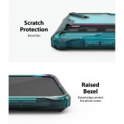 Ringke Fusion X Case - хибриден удароустойчив кейс за Huawei P40 (син) 3