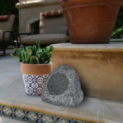 Generic Indoor/Outdoor 120W Weather-Resistant Wired Rock Patio Speaker (grey) 2