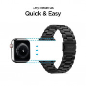 Spigen Modern Fit Band for Apple Watch 42mm, 44mm (black) 7