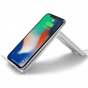 Spigen Dual Coil Fast Wireless Charger Stand F303W (white) 1
