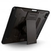 Spigen Tough Armor Pro Case - хибриден кейс с най-висока степен на защита за iPad Pro 11 (2020) (тъмносив) 2
