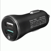 Spigen Qualcomm Quick Charge 3.0 Car Charger (QC3.0 + 5V / 2.4A) (black) 1