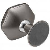 Spigen Kuel QS40 Metal Body Quad Magnetic Car Mount Holder - магнитна поставка за гладки повърхности за смартфони (тъмносив) 3