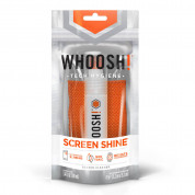 Whoosh GO XL Screen Shine Sprayer with antimicrobial microfiber cloth 100ml 1