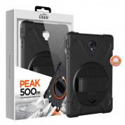 Eiger Peak 500m Case - удароустойчив хибриден кейс от най-висок клас за Samsung Galaxy Tab A 10.5 (2018) (черен)