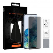 Eiger Mountain Glass Black Curved Anti-Spy Privacy Filter Tempered Glass for Samsung Galaxy S20 Plus