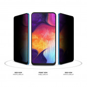 Eiger Mountain Glass Black Anti-Spy Privacy Filter Tempered Glass for Samsung Galaxy A30, Galaxy A50 2