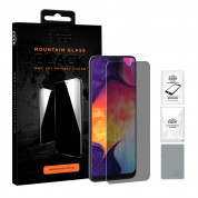 Eiger Mountain Glass Black Anti-Spy Privacy Filter Tempered Glass for Samsung Galaxy A30, Galaxy A50