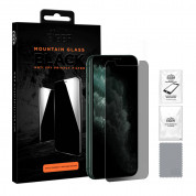 Eiger Mountain Glass Black Anti-Spy Privacy Filter Tempered Glass for iPhone 11 Pro Max, iPhone XS Max
