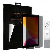 Eiger Mountain Glass Black Anti-Spy Privacy Filter Tempered Glass - калено стъклено защитно покритие с определен ъгъл на виждане за дисплея на iPad 7 (2019)