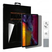 Eiger Mountain Glass Black Anti-Spy Privacy Filter Tempered Glass - калено стъклено защитно покритие с определен ъгъл на виждане за дисплея на iPad Pro 11 (2020), iPad Pro 11 (2018)