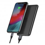 Baseus Bracket Power Bank 10W Wireless Charger 10000mAh (black) 5