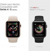 Spigen Ultra Hybrid Case - хибриден кейс с висока степен на защита за Apple Watch 44mm (прозрачен) 10