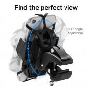 Spigen Velo A251 Bike Mount Holder - универсална поставка за колело и мотоциклет за мобилни телефони (черен) 8