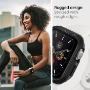 Spigen Rugged Armor Case for Apple Watch 44mm Series 5 and Series 4 (black) 8