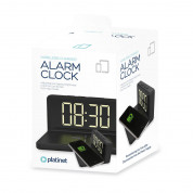 Platinet Alarm Clock with Qi Wireless Charger 3